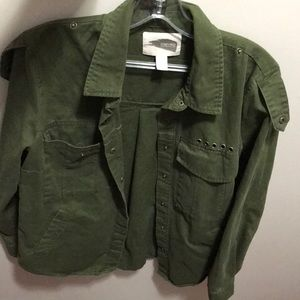 Green Jacket from forever 21